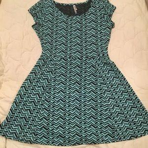 Rue21 mint green and black dress